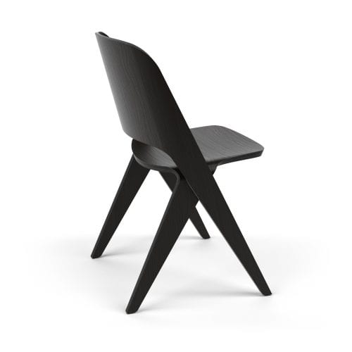 LAVITTA DINING CHAIR BLACK OAK | BELLA CASA LONDON
