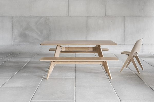 LAVITTA DINING TABLE 180CM OAK | BELLA CASA LONDON