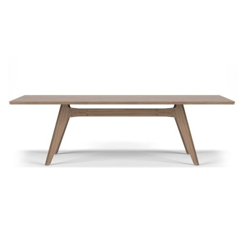 LAVITTA DINING TABLE 240CM DARK OAK | BELLA CASA LONDON
