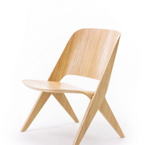 lavitta oak lounge chair poiat