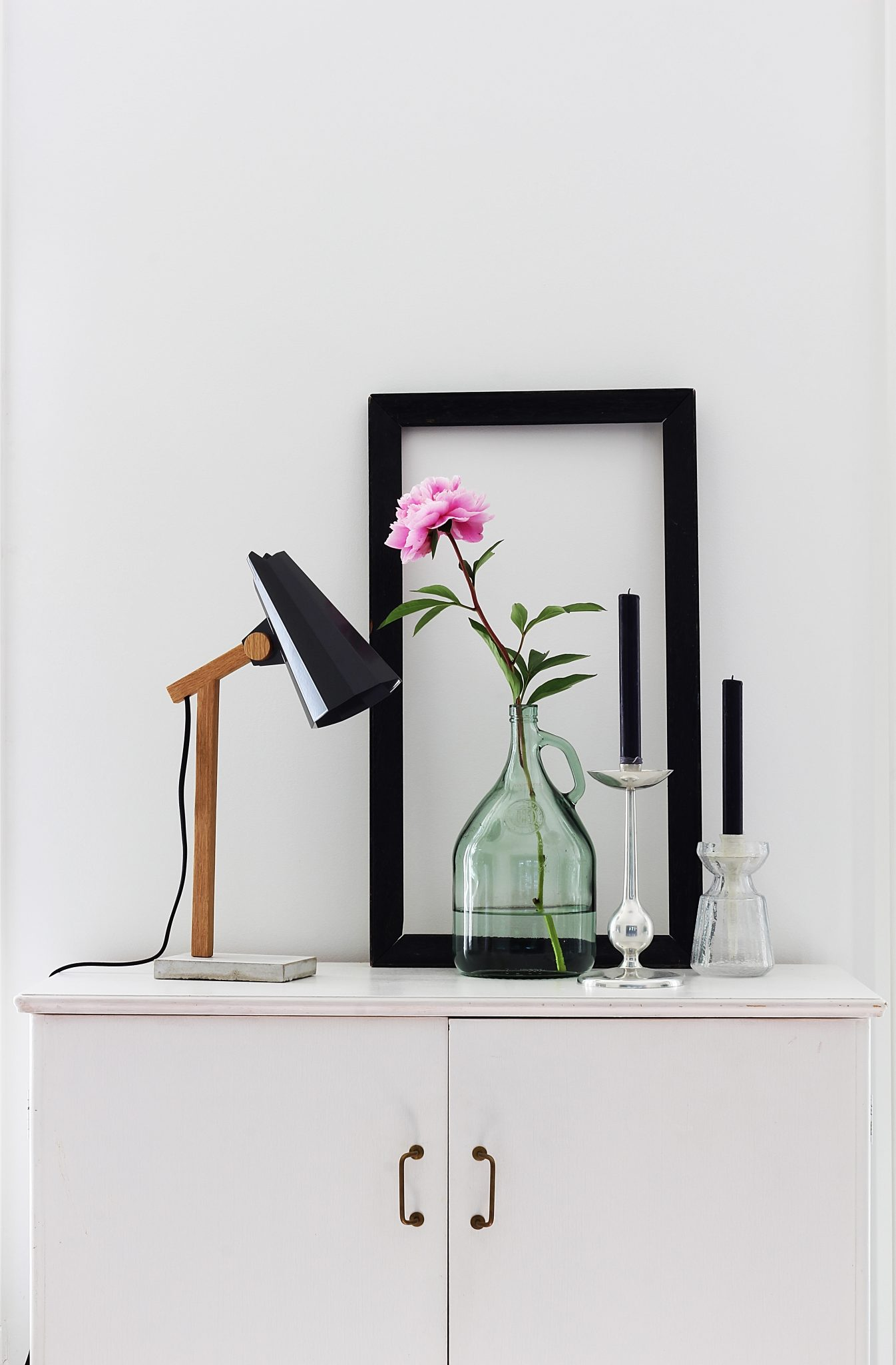 Filly Table Lamp With Dark Grey Shade