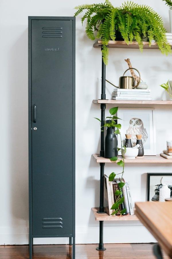 skinny locker storage solution mustard made