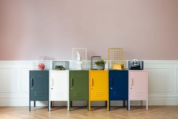 wire storage for lockers