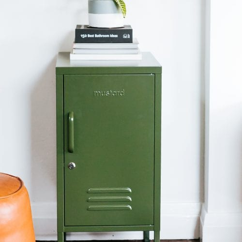 Olive Green HSorty Locker By Mustard Made