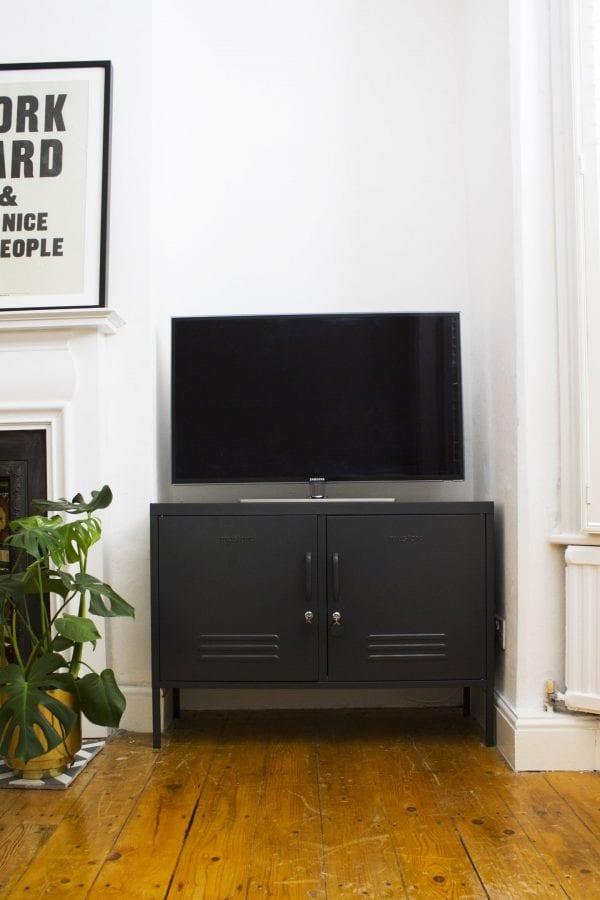 The Lowdown Slate TV Console Table