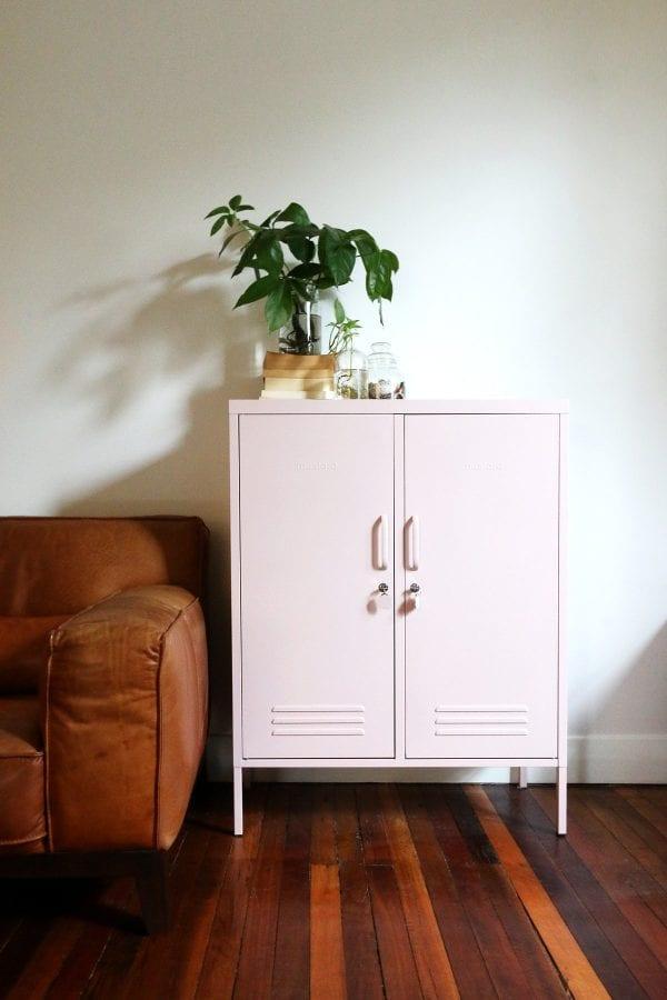 The Midi Blush Pink Storage Locker