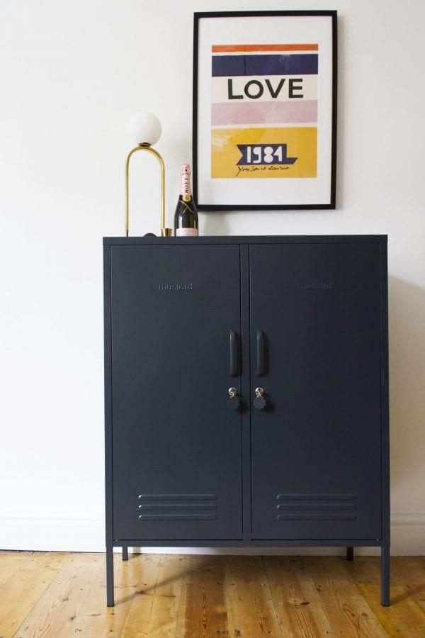 The Midi Slate Grey Styled Locker Image