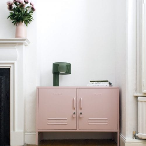 The lowdown Locker In Blush