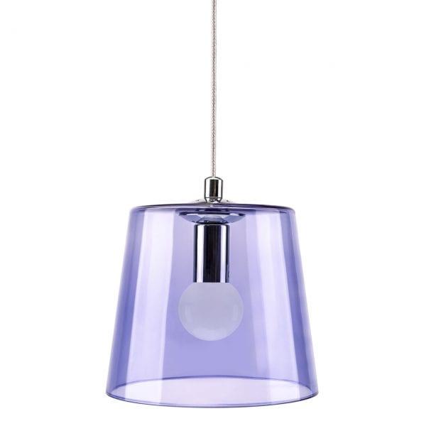KIKI Blue Glass Pendant Lamp
