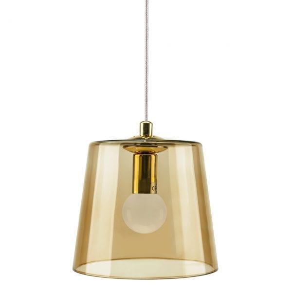 KIKI Amber Glass Pendant Lamp