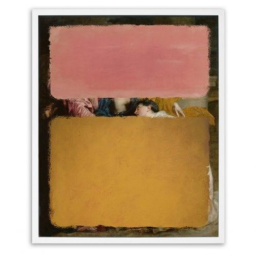 Pink And Orange LTD Edition Framed Print