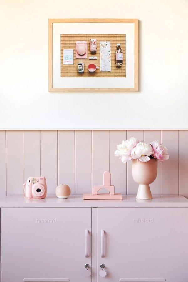The Lowdown Locker In Blush Pink