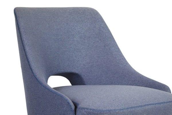 Thames Blue Accent Chair