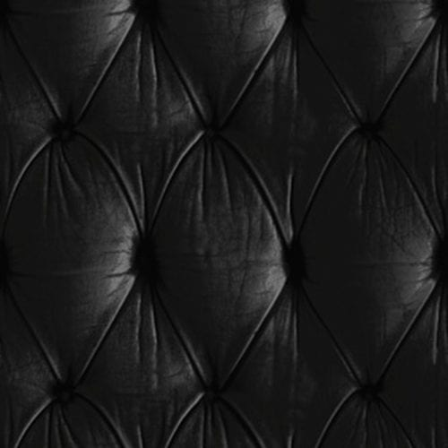 Black Chesterfield Button Back Wallpaper Design