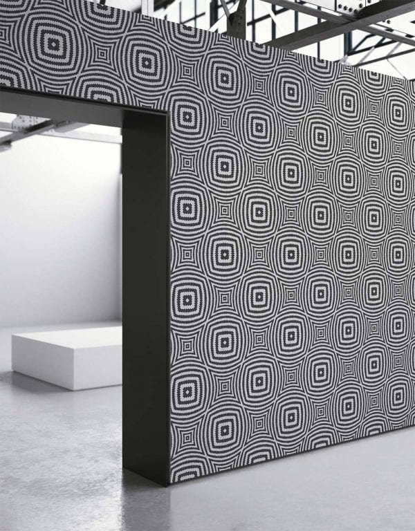 Black Geometric Illusion Circles Wallpaper Location Shoot