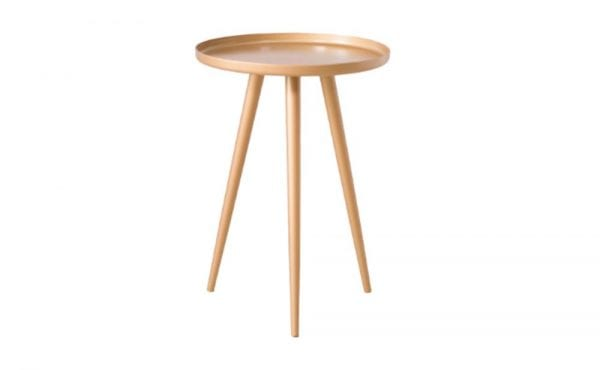 City Gold Bedside Table