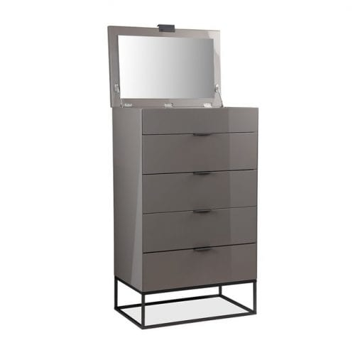 Cresswell Tall Boy Chest Of Drawers
