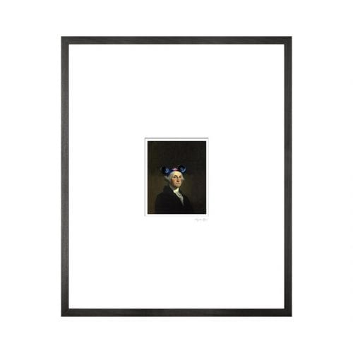 Mikey Mouse Art Print Framed Classical Portrait