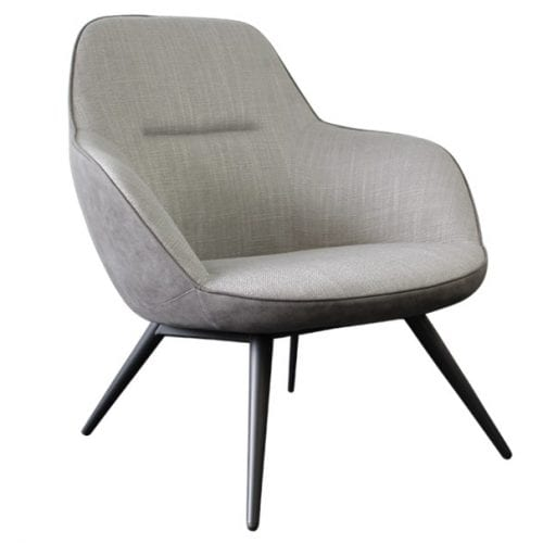 Suburb Beige & Grey Accent Chair