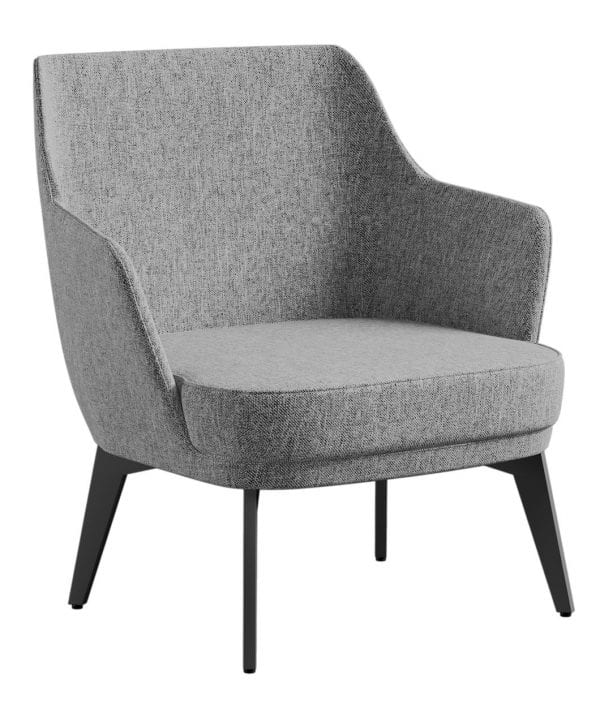 West Accent Chair Grey