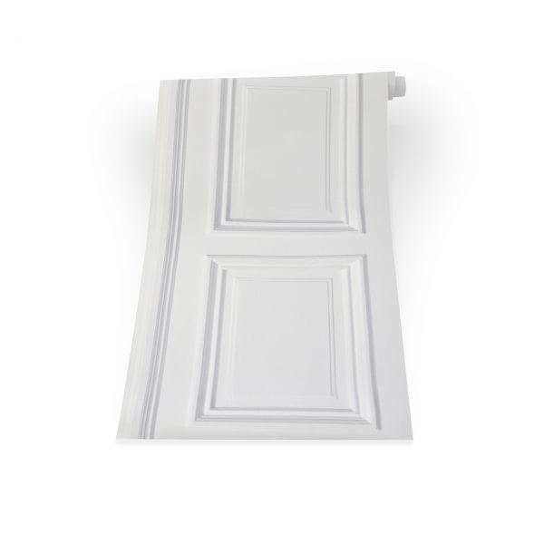 White Panel Wallpaper