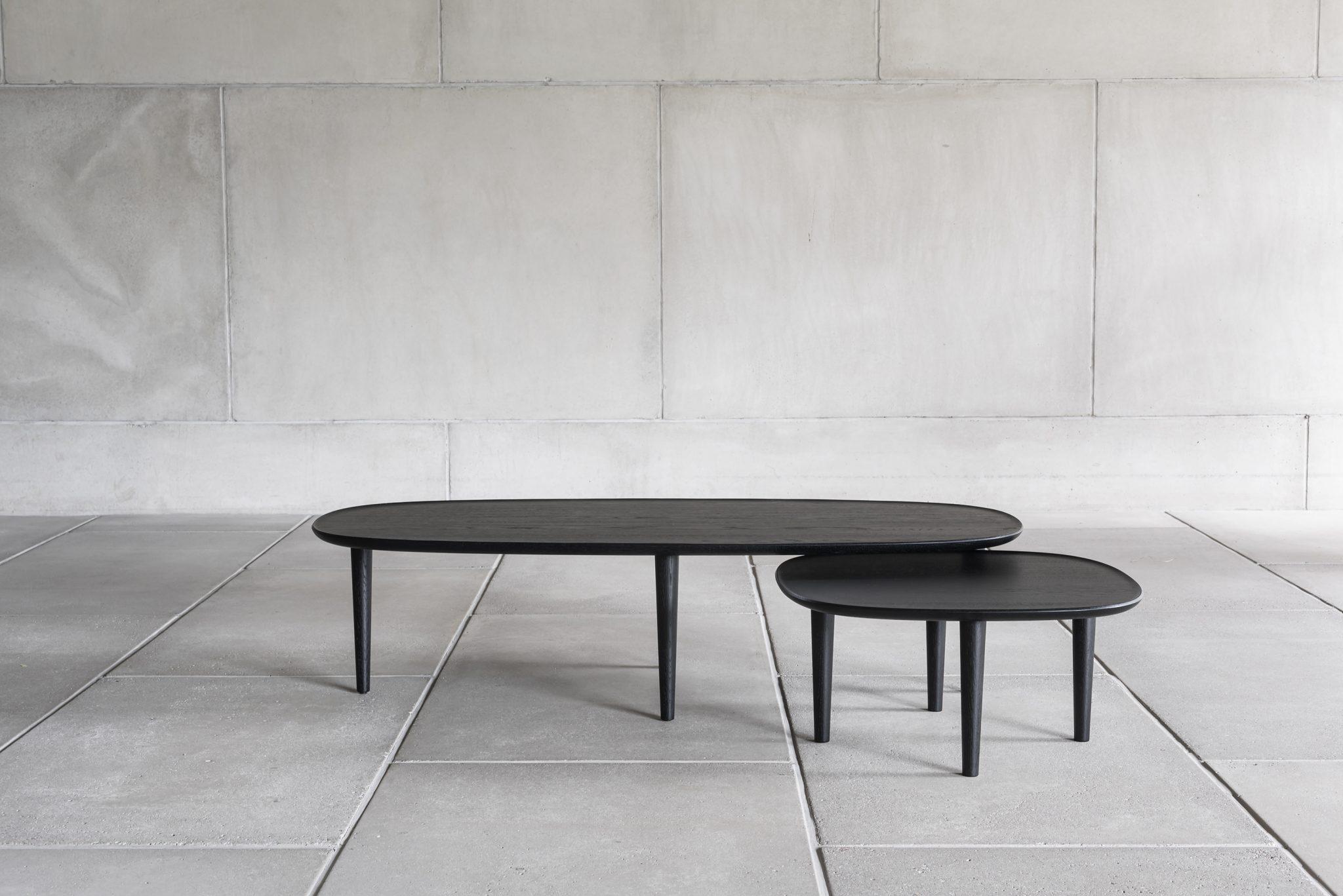 FIORI 140X65 BLACK OAK NEST COFFEE TABLE | BELLA CASA LONDON
