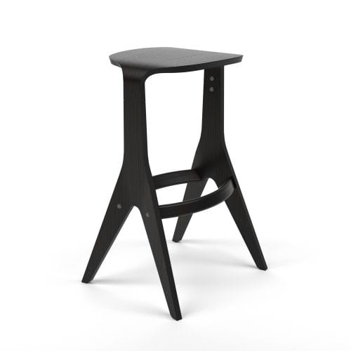 LAVITTA STOOL BLACK OAK | BELLA CASA LONDON